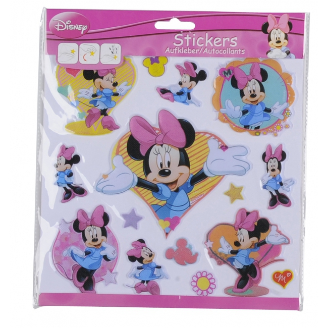 Disney Minnie Mouse 3D stickers