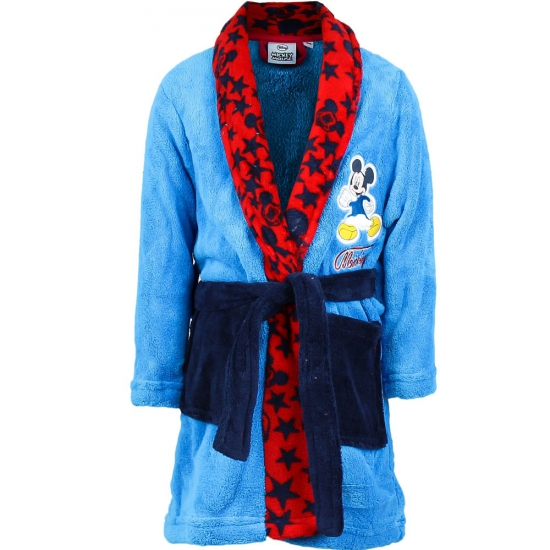 Disney ochtendjas Mickey Mouse licht blauw