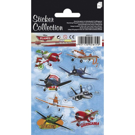 Disney Planes stickervellen