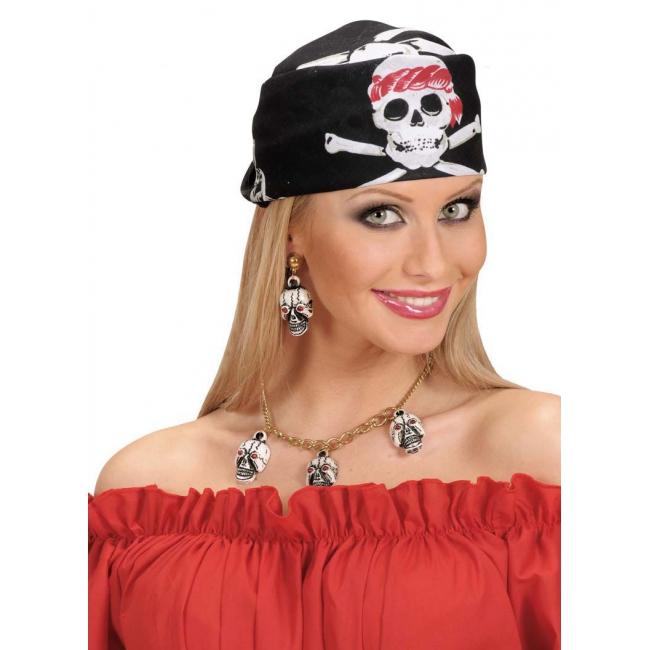 Doodskop bandana piraat