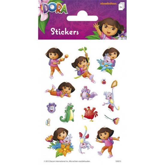 Dora stickervellen