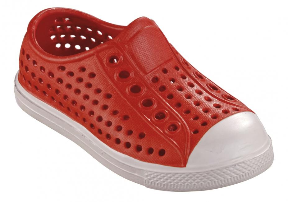 Extra lichte waterschoen voor kids rood