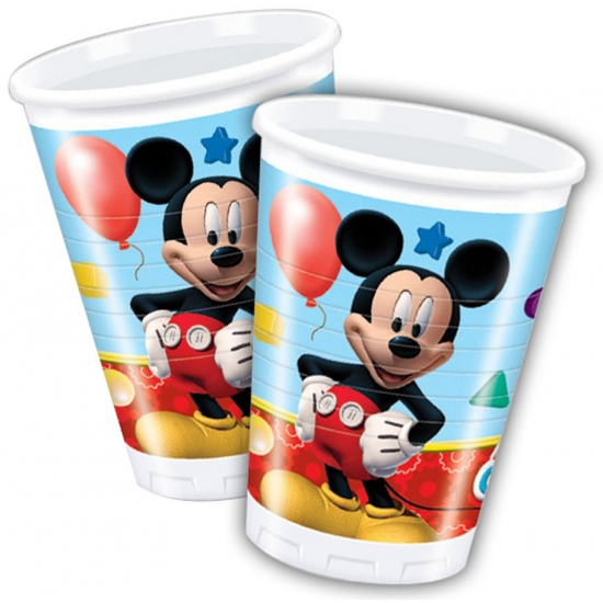 Feestbekers Mickey Mouse 200 ml