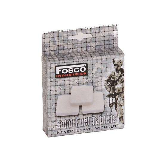Fosco brandstof tabletten 8 stuks