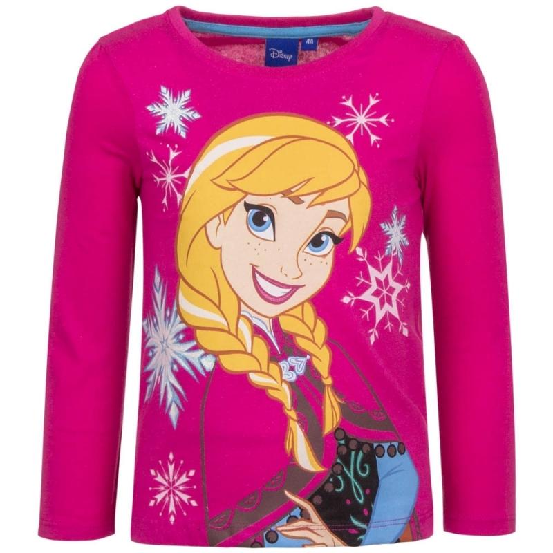 Frozen t shirt Anna roze