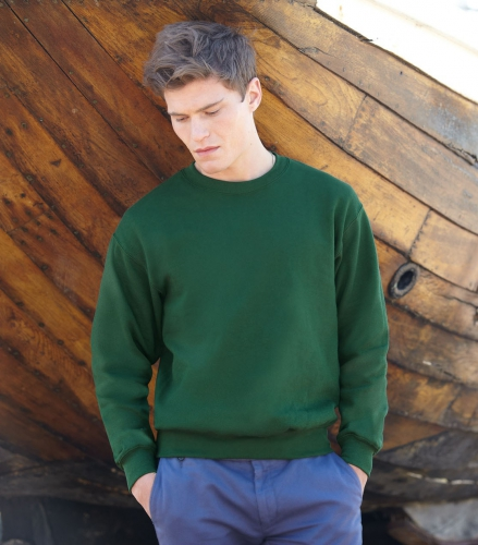 Fruit of the Loom sweater ronde hals