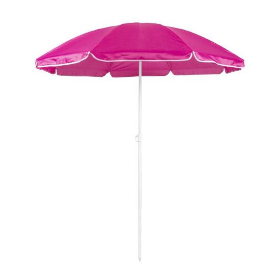 Fuchsia roze strand parasol