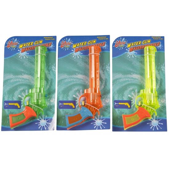 Gekleurd waterpistool 28,5 x 12 x 4 cm