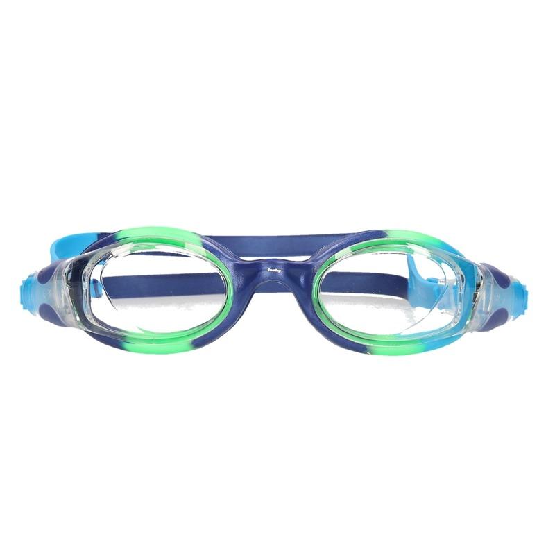 Gekleurde kinder duikbril met blauwe band