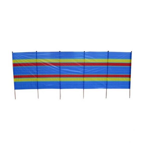 Gestreept windscherm 400 x 152 cm