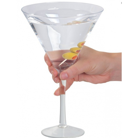Gigantisch cocktail glas