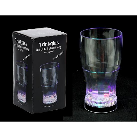 Glas met led verlichting