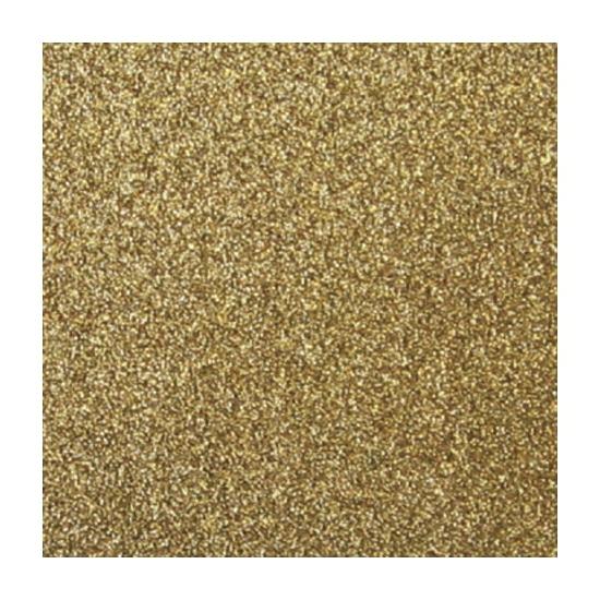 Glitter papier goud vel