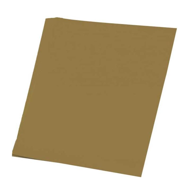 Goud knutsel papier 50 vellen A4