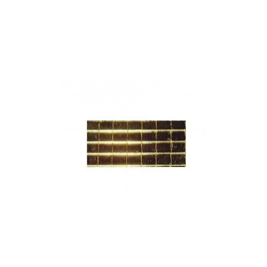 Gouden spiegel mozaiek zelfklevend