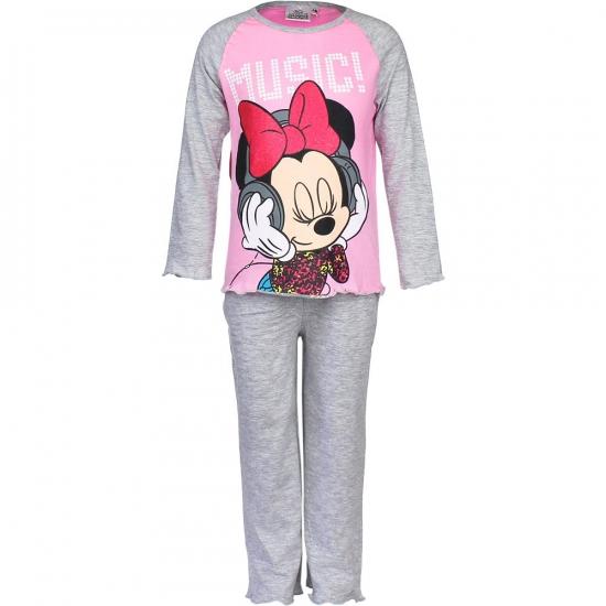 Grijze kinder pyjama Minnie Mouse