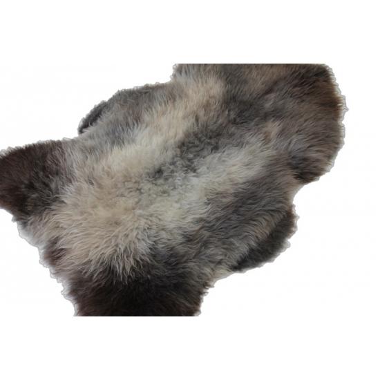 Grijze of bruine gemeleerd schapenvacht