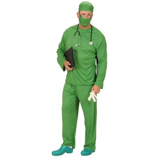 Groen chirurgen kostuum voor volwassenen
