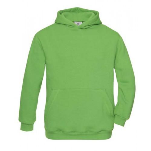 Groen gekleurde trui voor kinderen