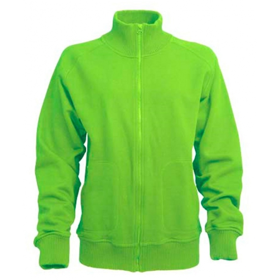 Groen Lemon and Soda vest voor dames en heren
