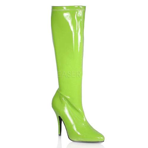 Groene dames laarzen