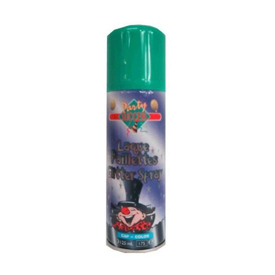 Bus spray haarverf glitter groen