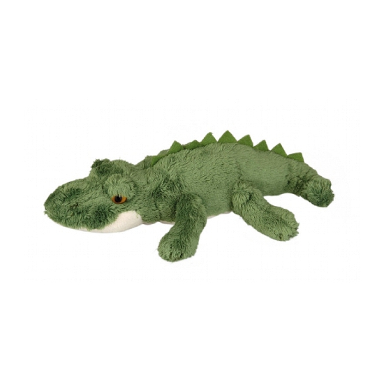 Groene krokodil knuffel 15 cm