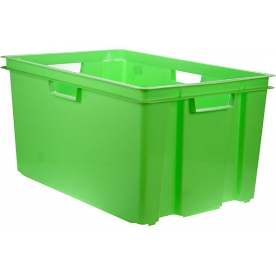 Groene opbergboxen 60 cm