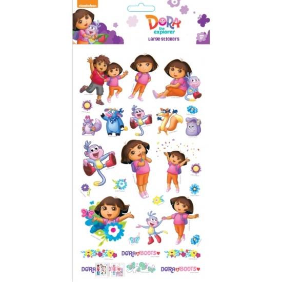 Groot stickervel Dora