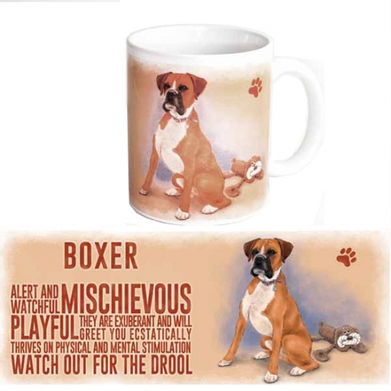 Grote beker Boxer