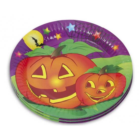 Halloween feestbordjes 10 stuks