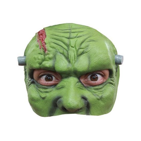 Halloween Frankenstein masker half gezicht