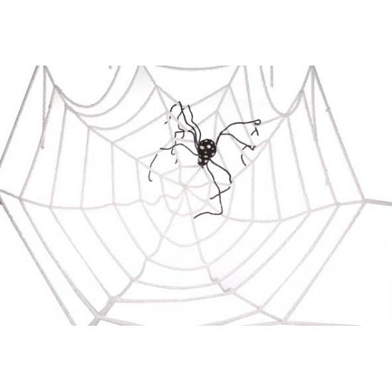 Halloween Mega spinnenweb decoratie 2 meter