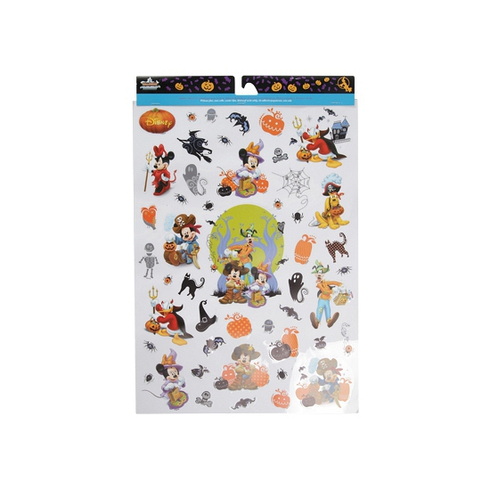 Halloween raamstickers Disney thema
