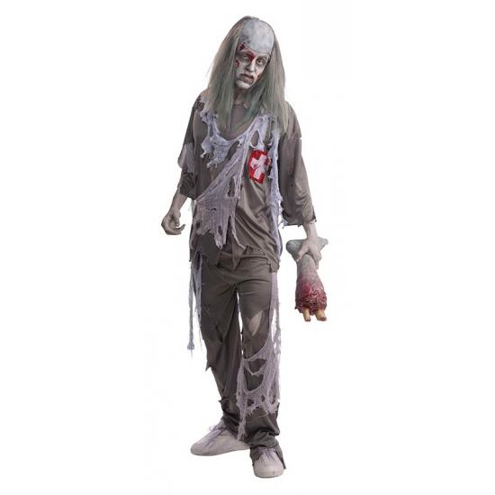 Halloween Zombie dokter kostuum voor volwassenen