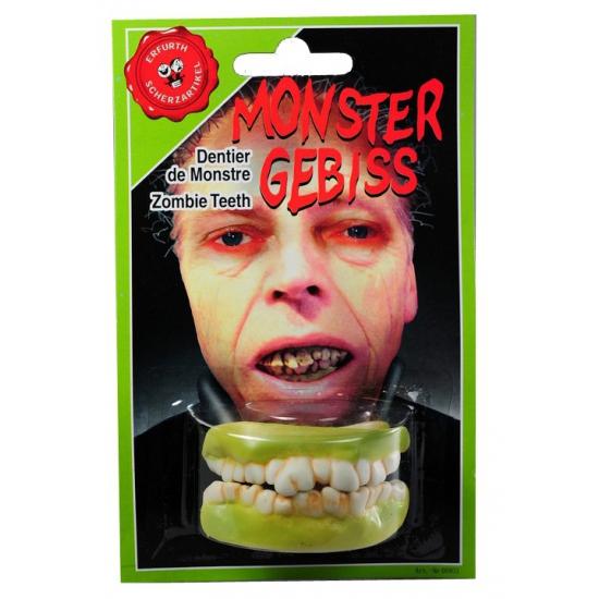 Halloween Zombie gebitje voor boven en onder tanden
