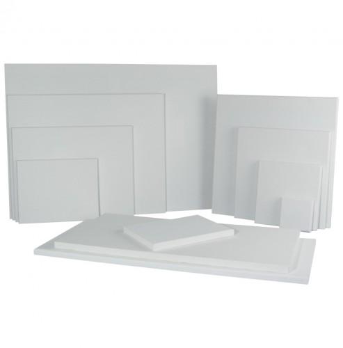 Handbespannen schildersdoek 10 x 10 cm