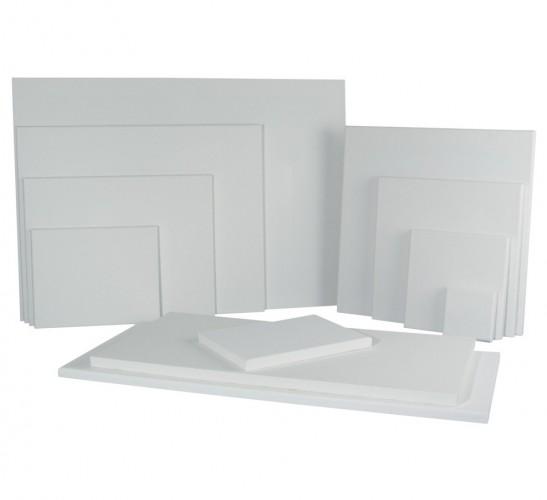 Handbespannen schildersdoek 20 x 20 cm