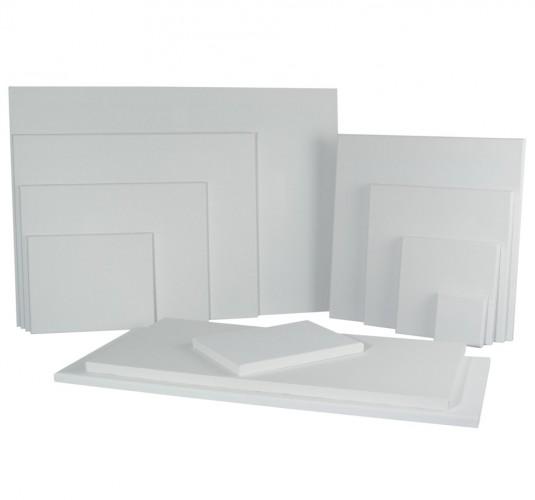 Handbespannen schildersdoek 30 x 30 cm