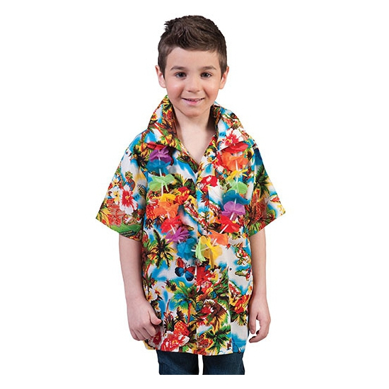 Zomerse hawaii blouse kids