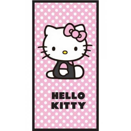 Hello Kitty handdoek 70 x 140 cm
