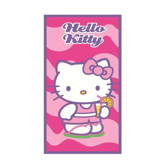 Hello Kitty handoek 70 x 140 cm