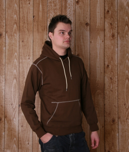 Heren sweater met capuchon
