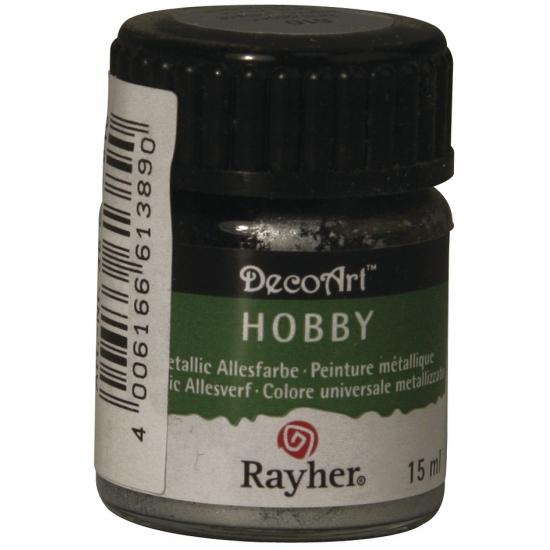 Hobby allesverf zilver 15 ml