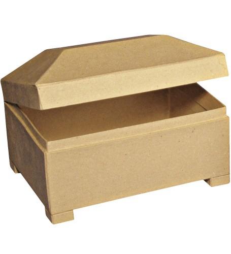 Hobby juewelen kistje van papier mache