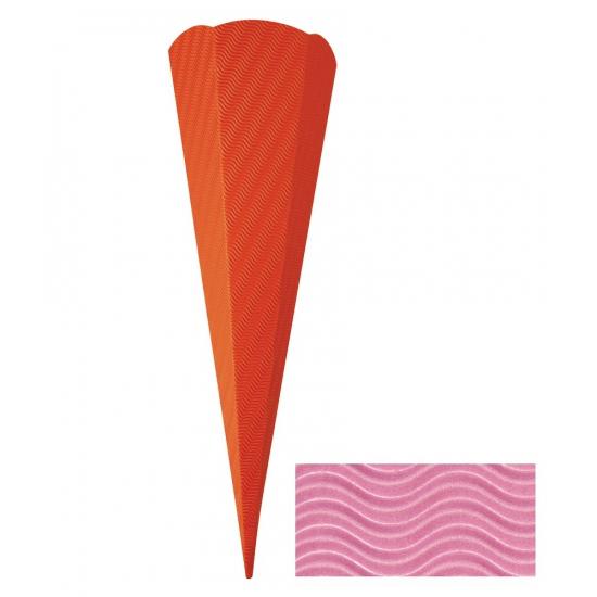 Hobby materiaal knutselzak roze 68 cm