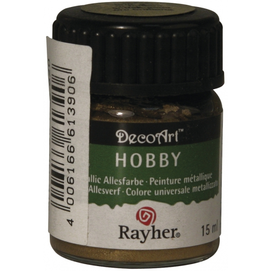 Hobby materialen verf goud 15 ml