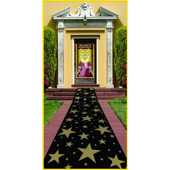 Hollywood loper met gouden sterren
