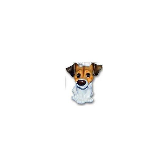 Honden beeldjes zittende Jack Russell pup 13 cm