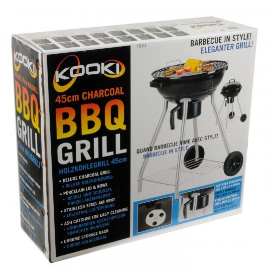 Houtskool barbecue deluxe